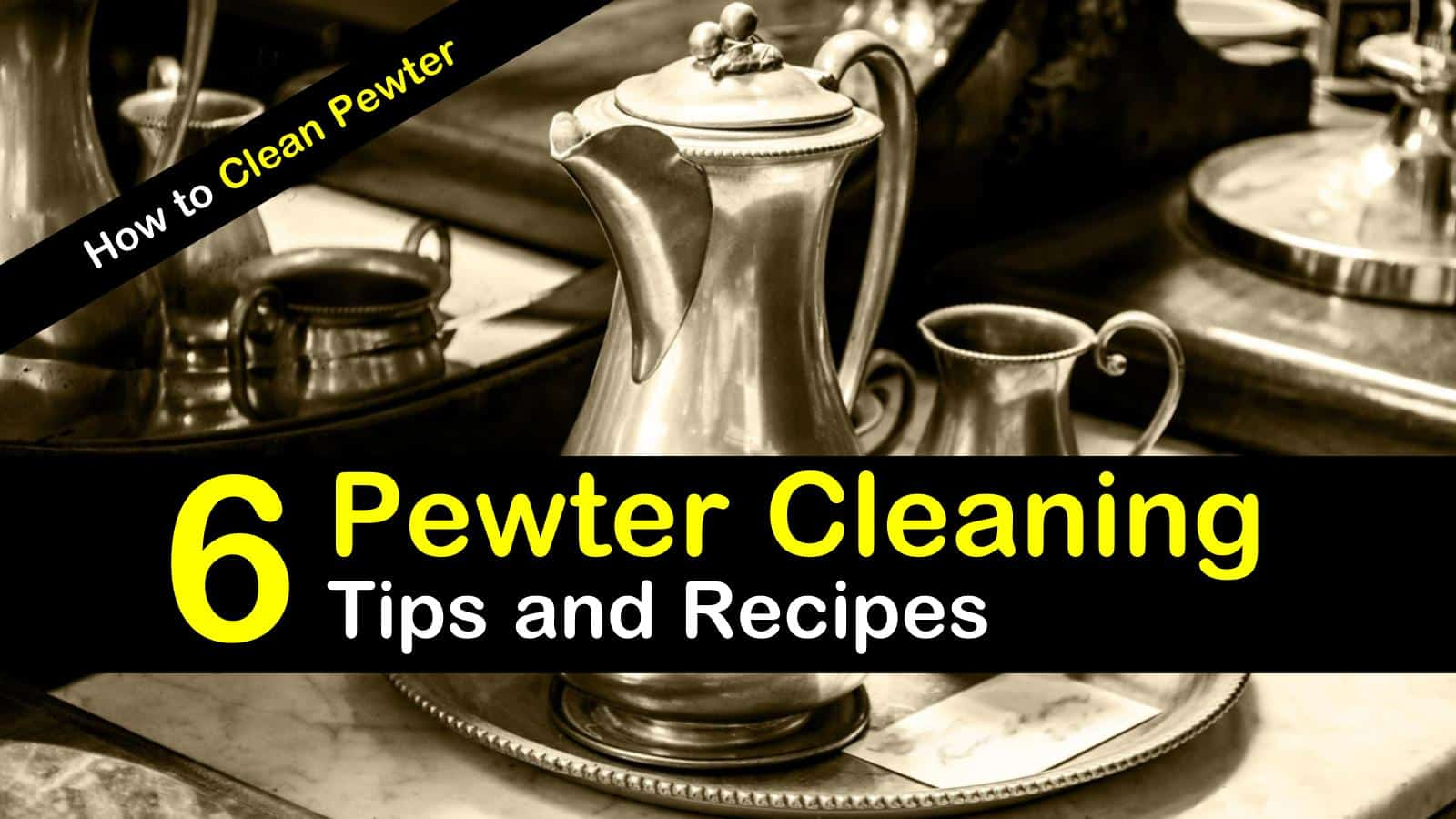 titilimg how to clean pewter