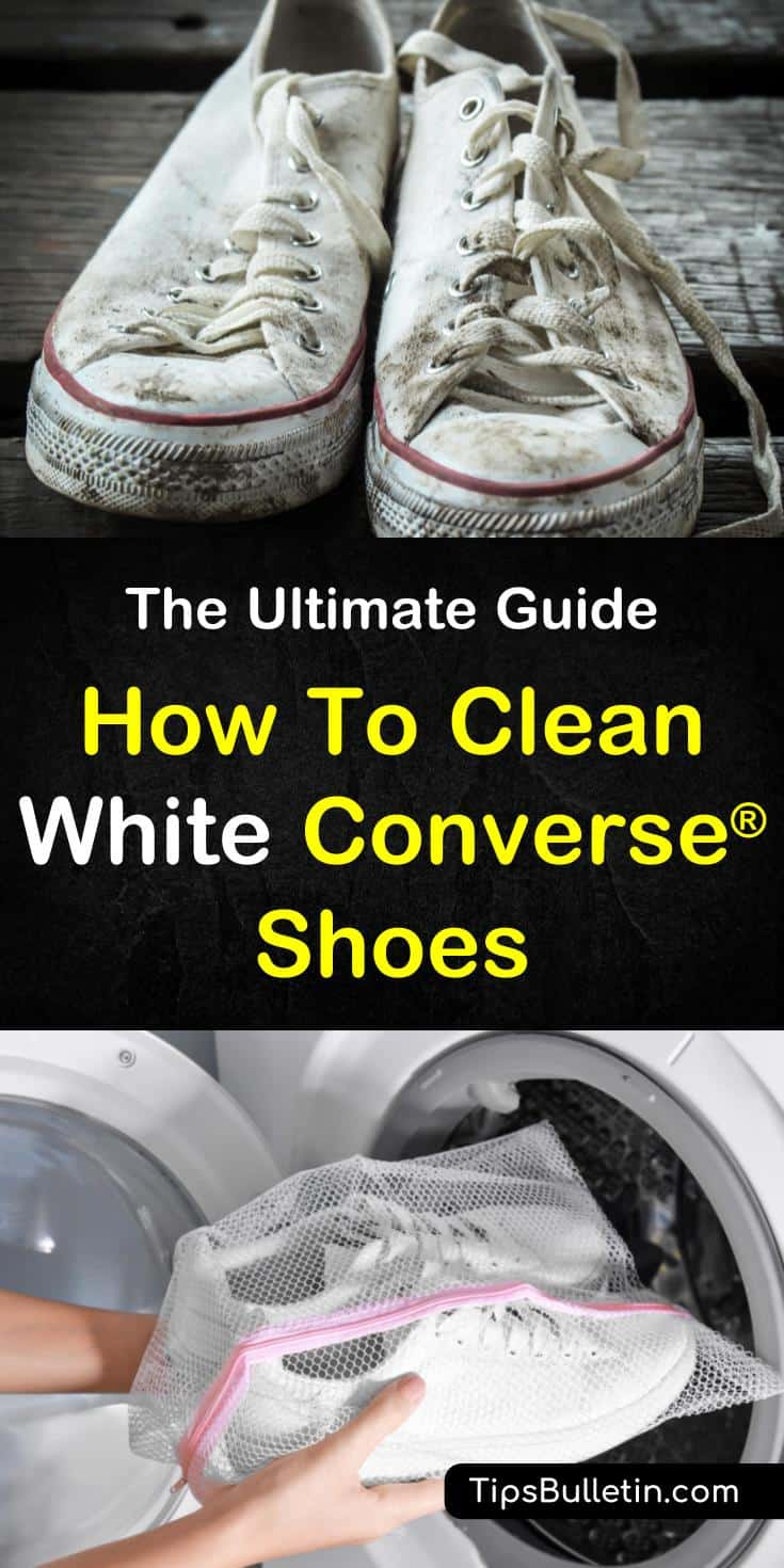 How To Clean White Converse® Shoes