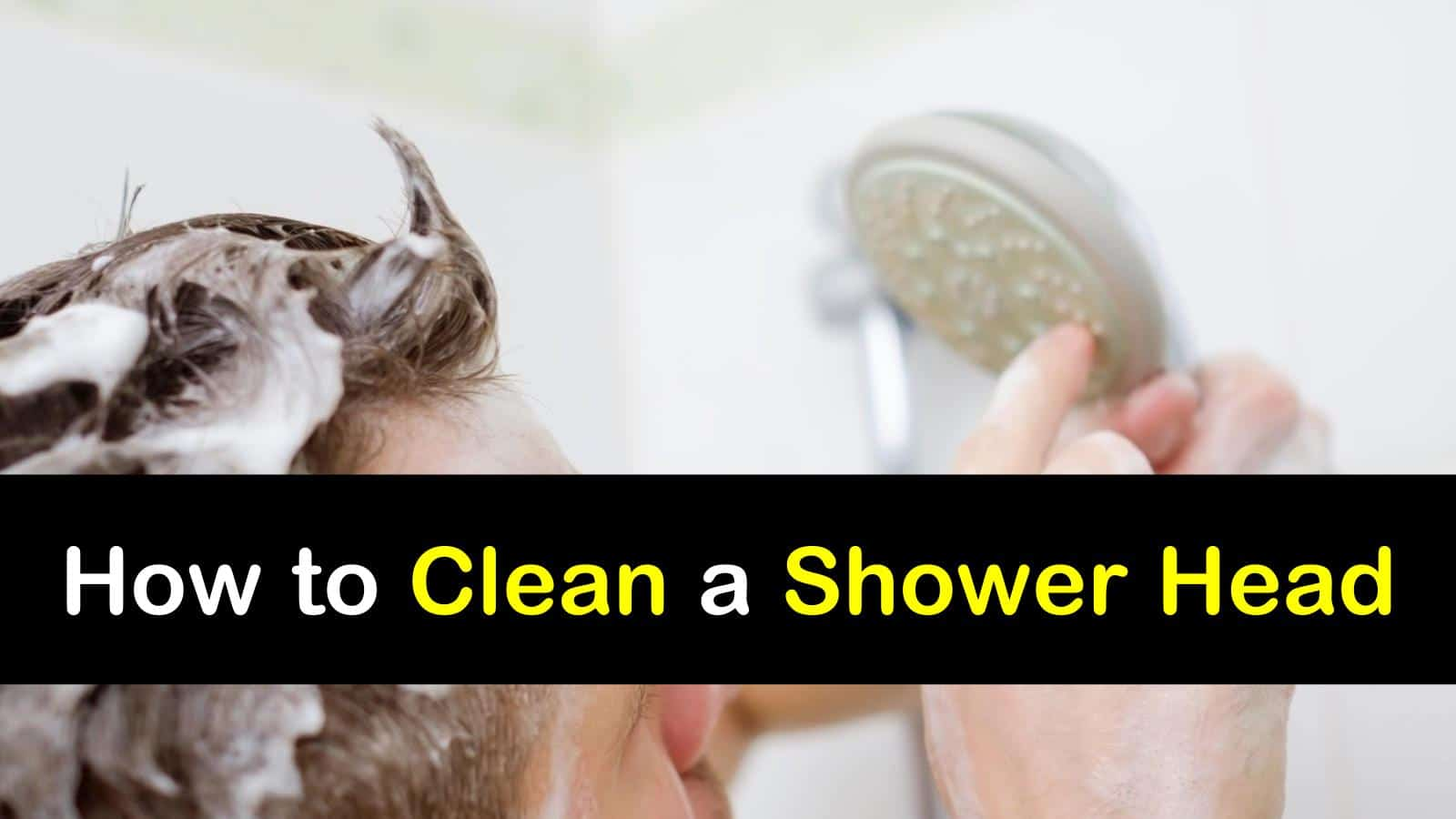 how to clean a shower head. Black Bedroom Furniture Sets. Home Design Ideas