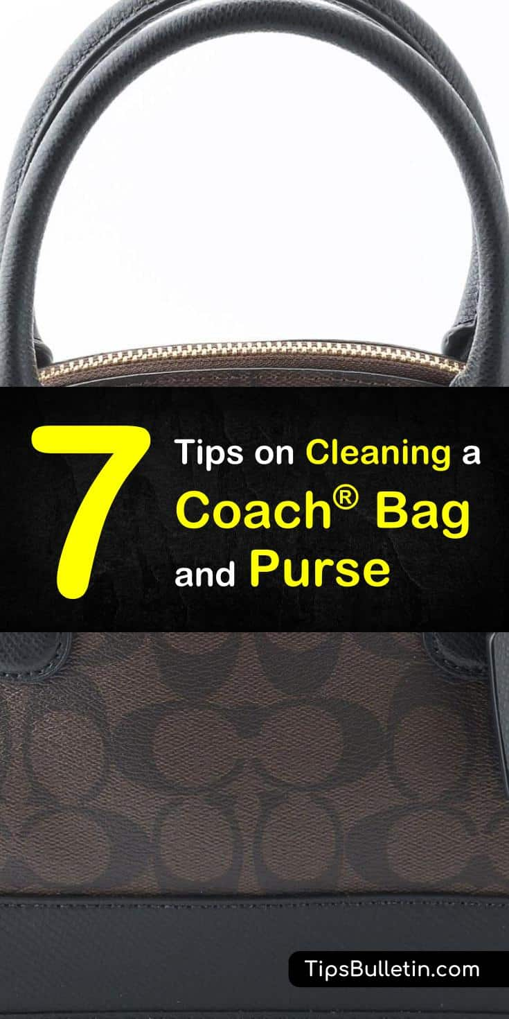 Learn how to clean coach leather fabrics and handbags with these coach bag cleaning tips. Clean black and brown bags and keep the fashion up to date with these hands-on tips. #coachpurse #leather #clean
