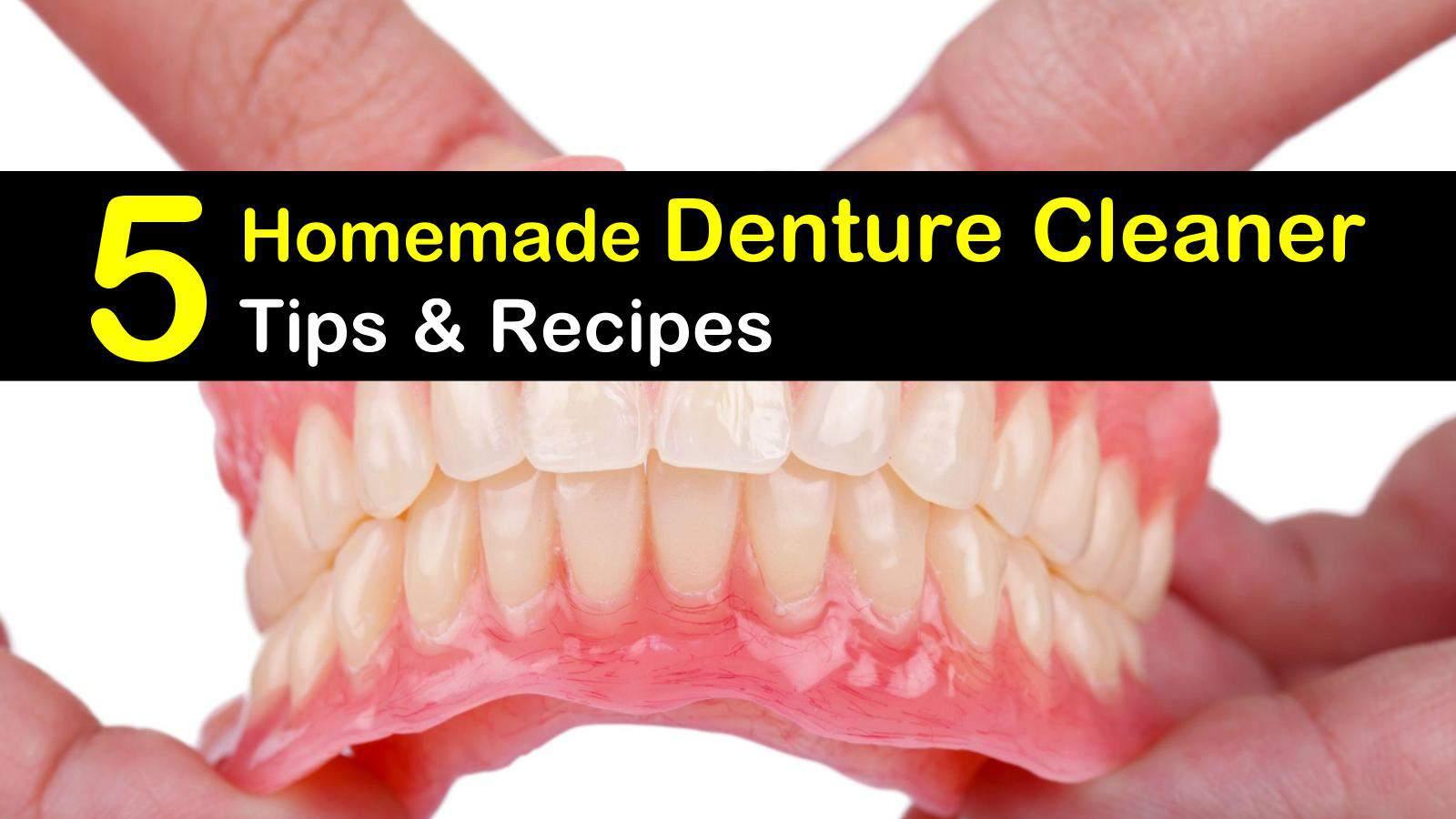 homemade denture cleaner titleimg1