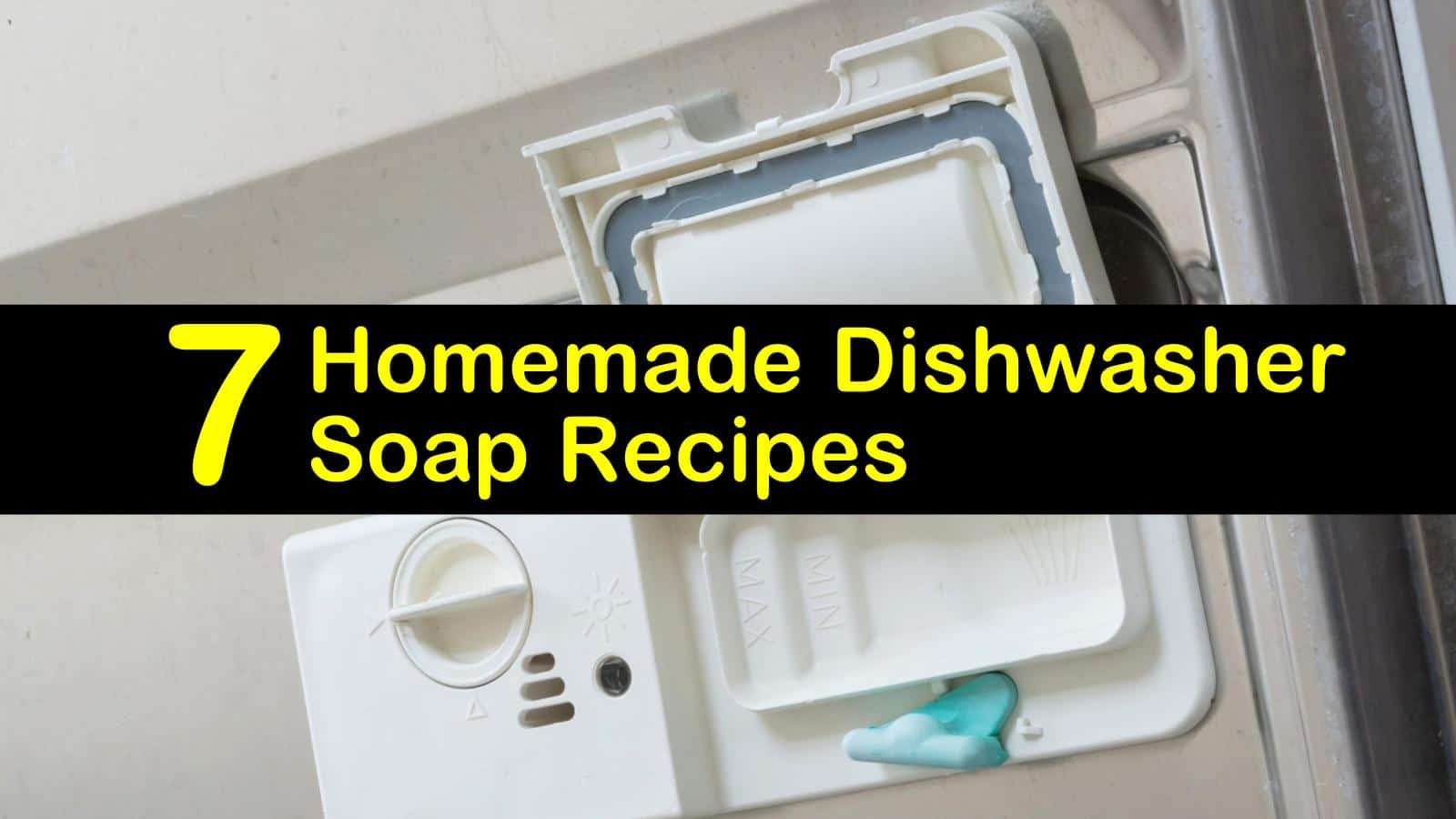 Recipes to Make Your Own Dishwasher Soap