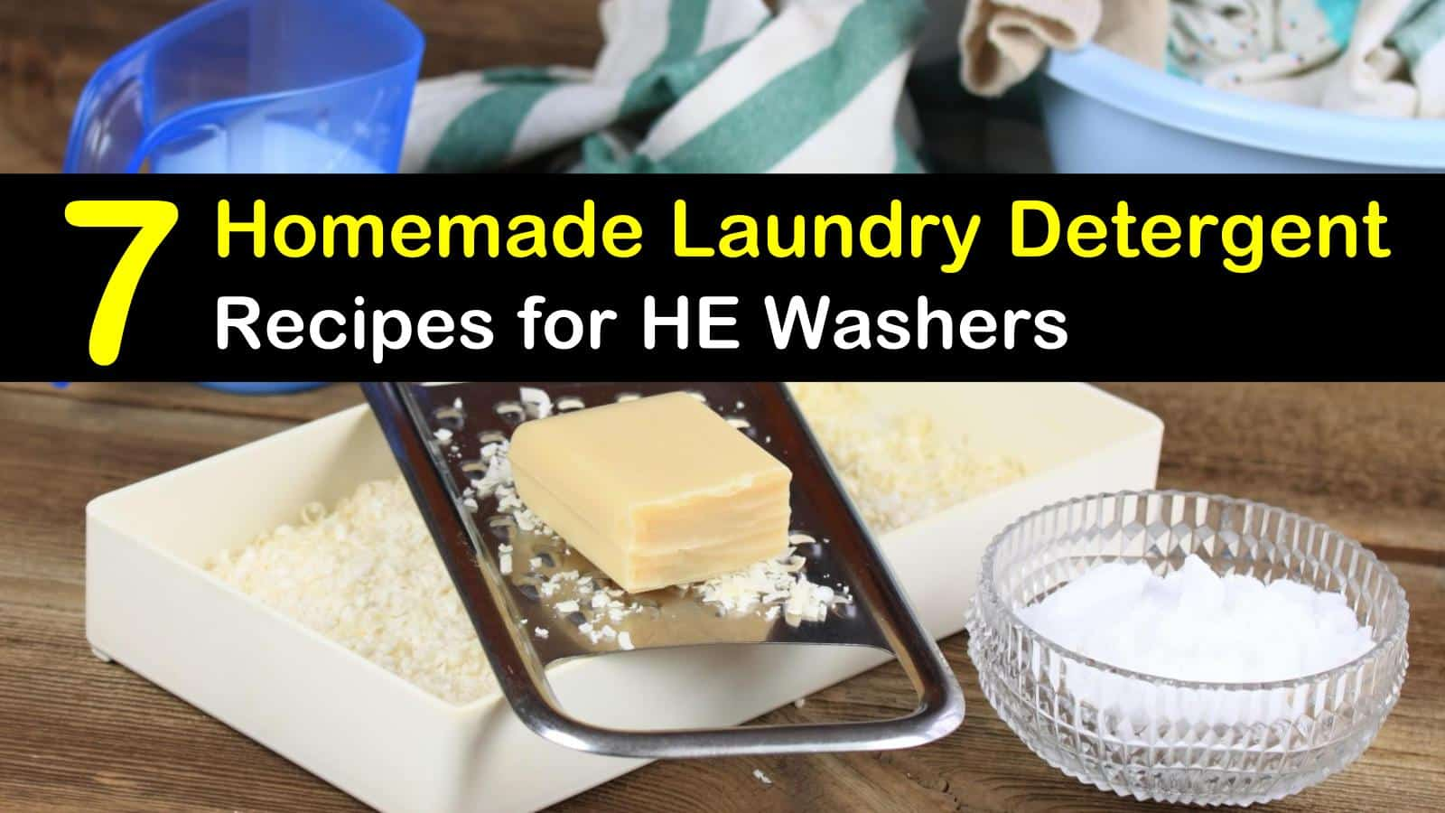 Laundry Detergent for HE Washers