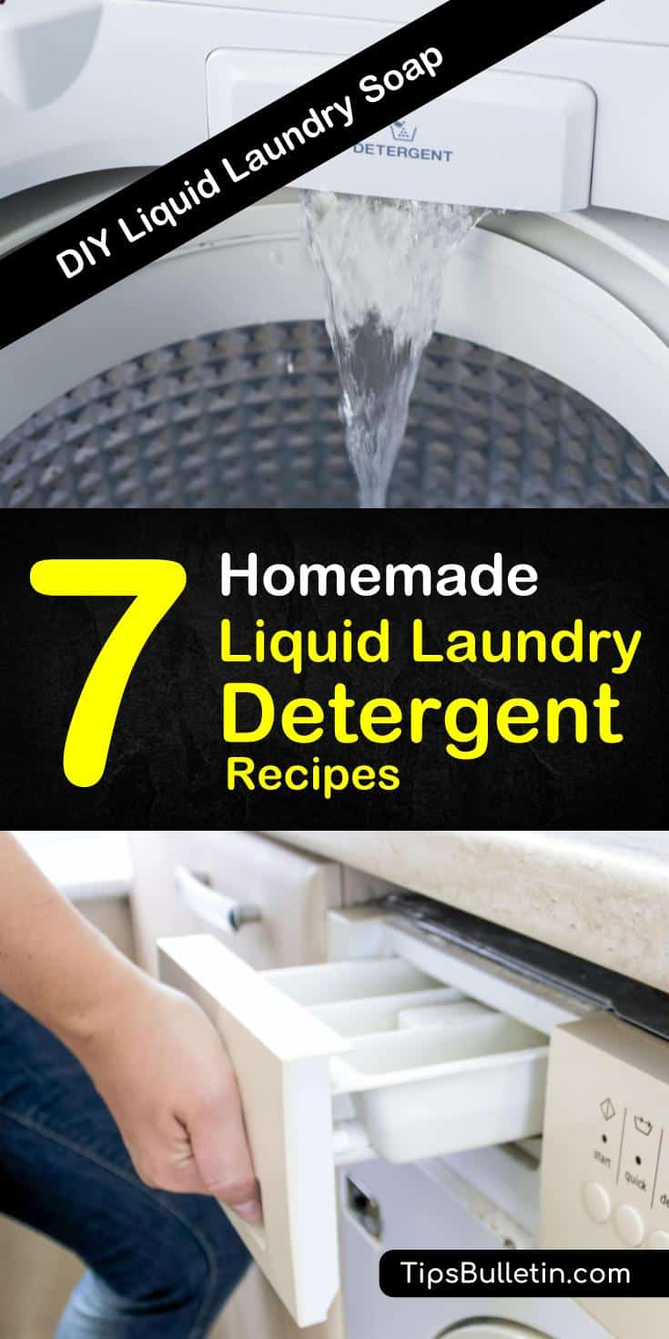 Discover how to make a homemade liquid laundry detergent that smells good using ingredients like baking