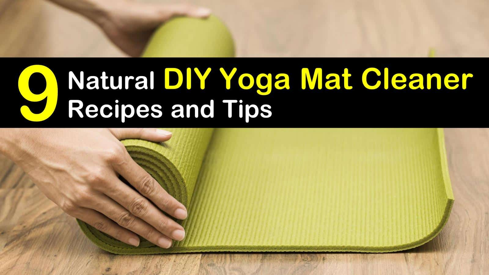 diy yoga mat cleaner titleimg1
