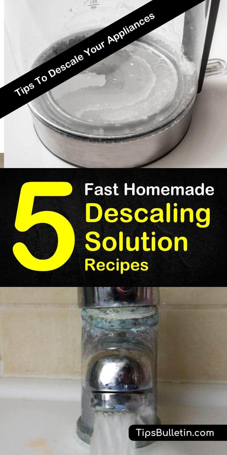 Homemade Descaling Solution Recipes: 5 DIY Tips To Descale