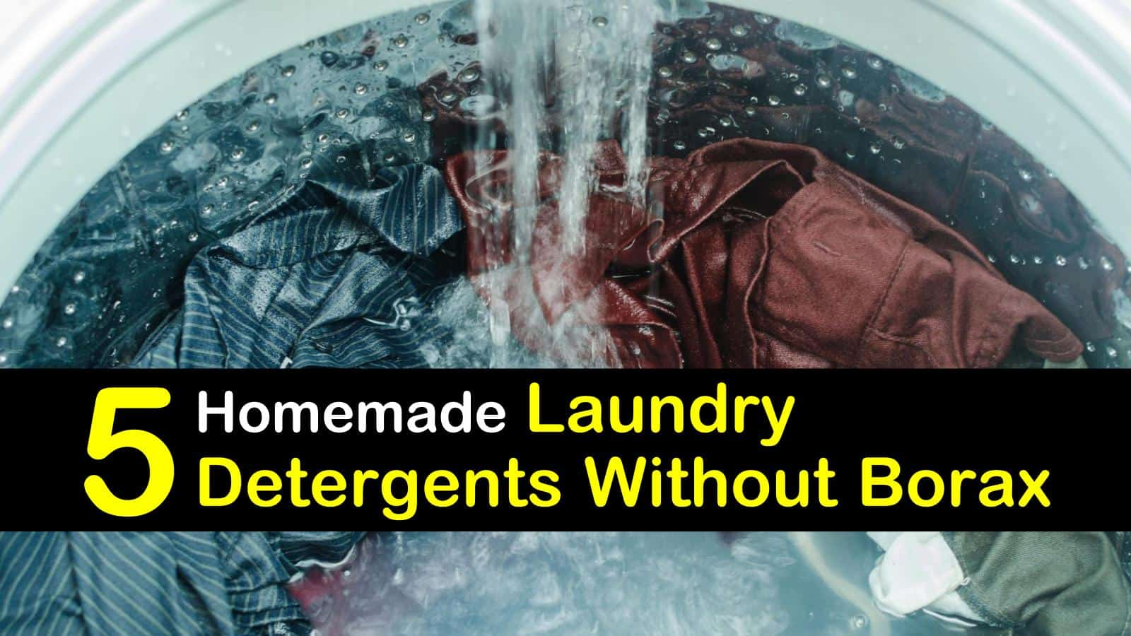 Laundry Detergent without Borax