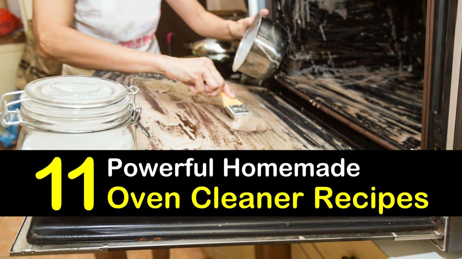11 Easy Ways to Make Your Own Oven Cleaner