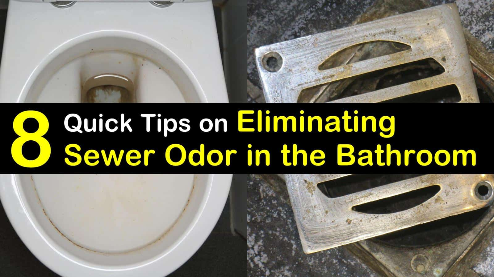 How to Get Rid of Sewer Smell in the Bathroom - 8 Quick ...