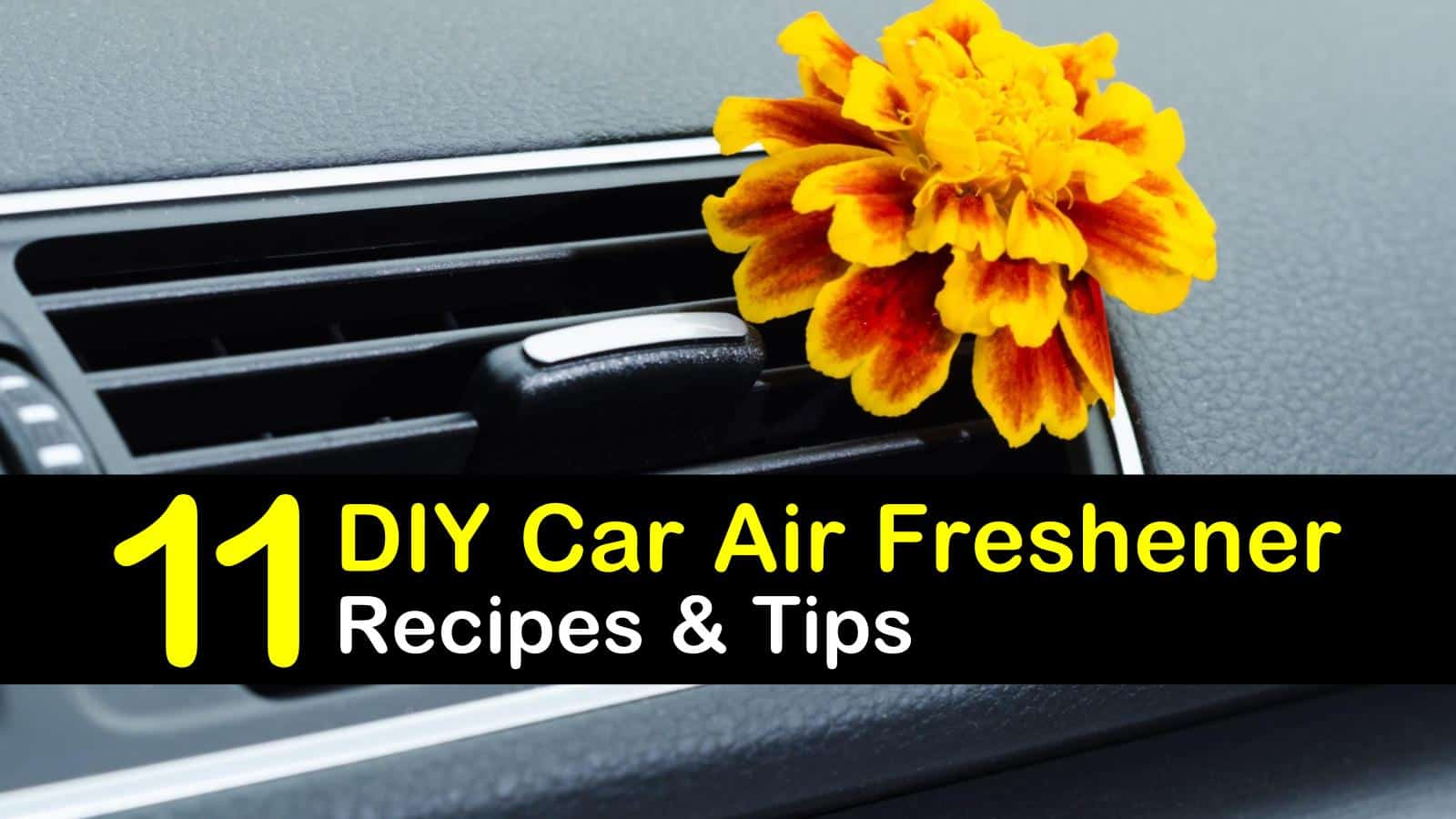 11 All-Natural Homemade Car Air Fresheners