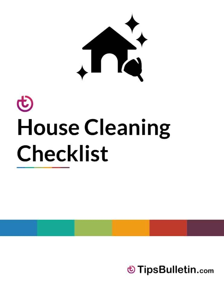 picture relating to Printable House Cleaning Checklist identified as Checklists - Cost-free Printable Property Cleansing Record