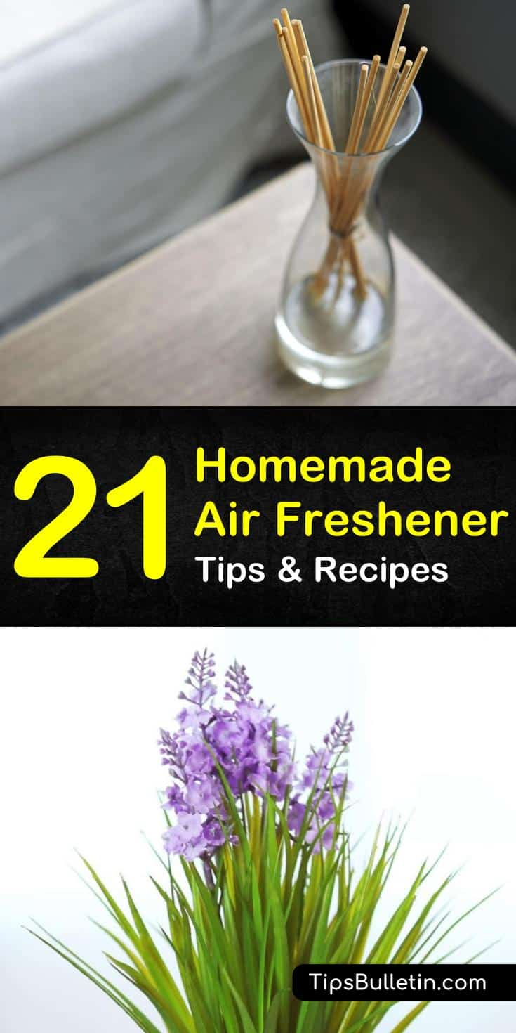 Every home has a unique scent, some scents are worse than others. Bad house smells happen, but a homemade air freshener doubles as an odor eliminator using essential oils and baking soda as their secret ingredients. #badodors #homemaderoomspray #airfreshener