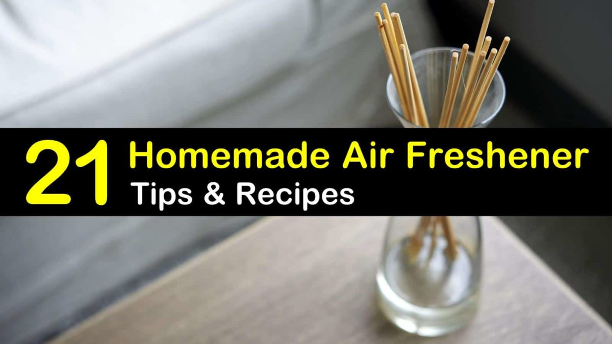 21 Natural Effective Air Freshener Solutions