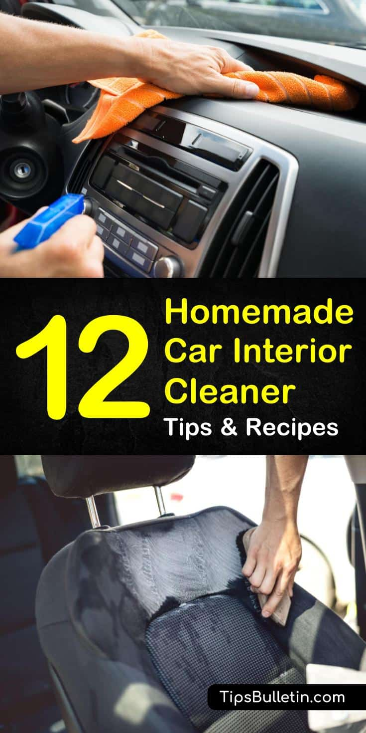 Diy Car Interior Design: Homemade Car Interior Cleaner Recipes: 12 Tips For