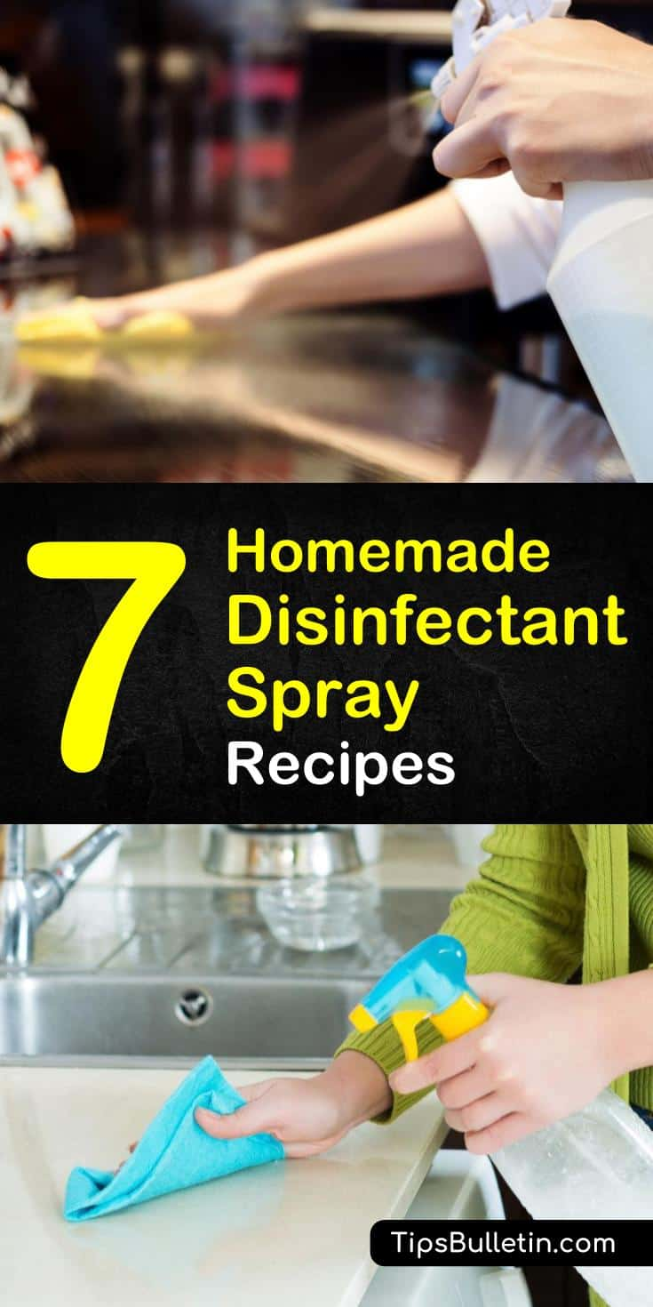 Natural Disinfecting: 7 Homemade Disinfectant Spray Recipes