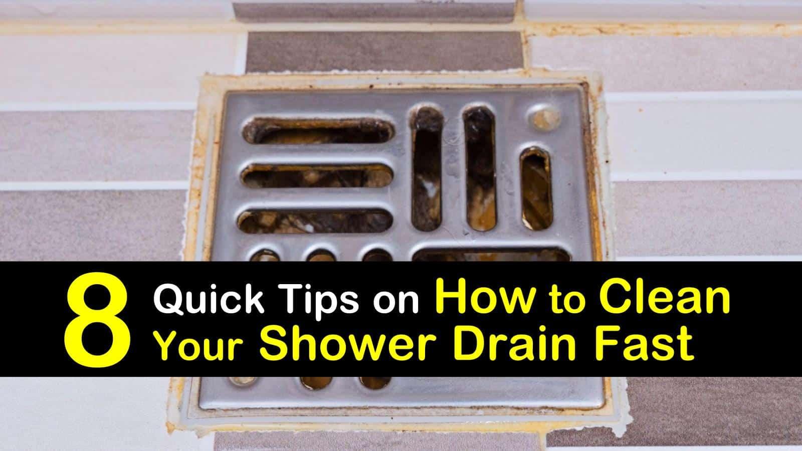 how to clean a shower drain titleimg1