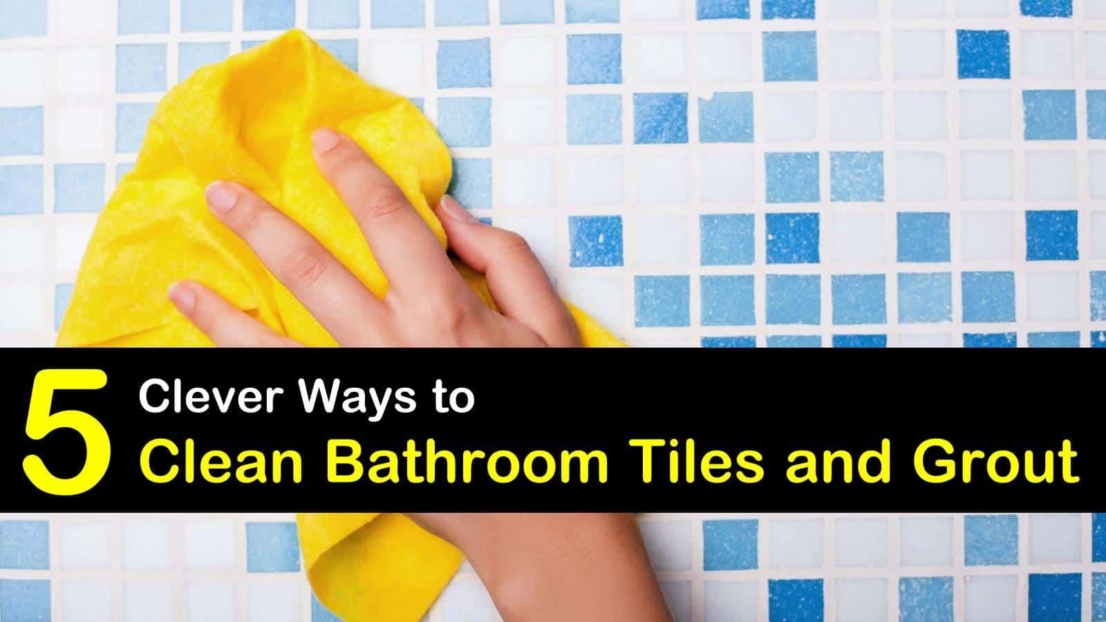 how to clean bathroom tile titleimg1