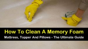 how to clean memory foam titleimg1