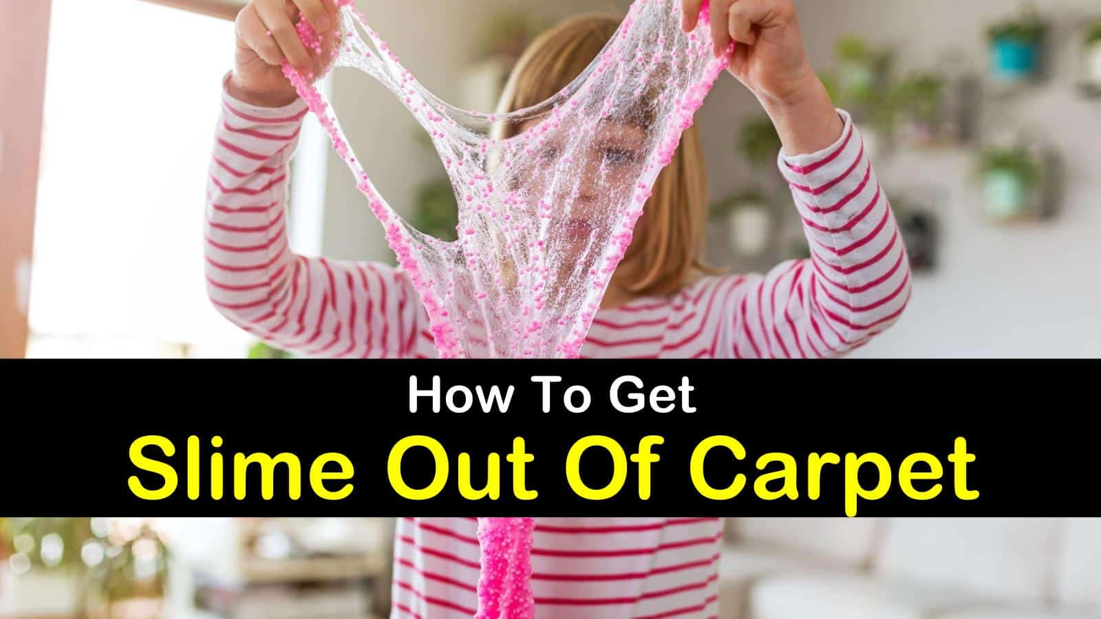 How To Get Slime Out Of Carpet Removing Play Dough And