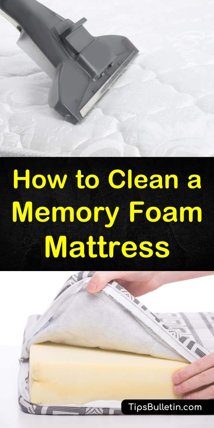 To get the most out of your new memory foam mattress topper or pad you need to rgeularly clean and maintain it. Come learn how to remove even the toughest stains with ingredients like white vinegar and baking soda, so you can reap the benefits of your new bed for years to come. #memoryfoam #mattress