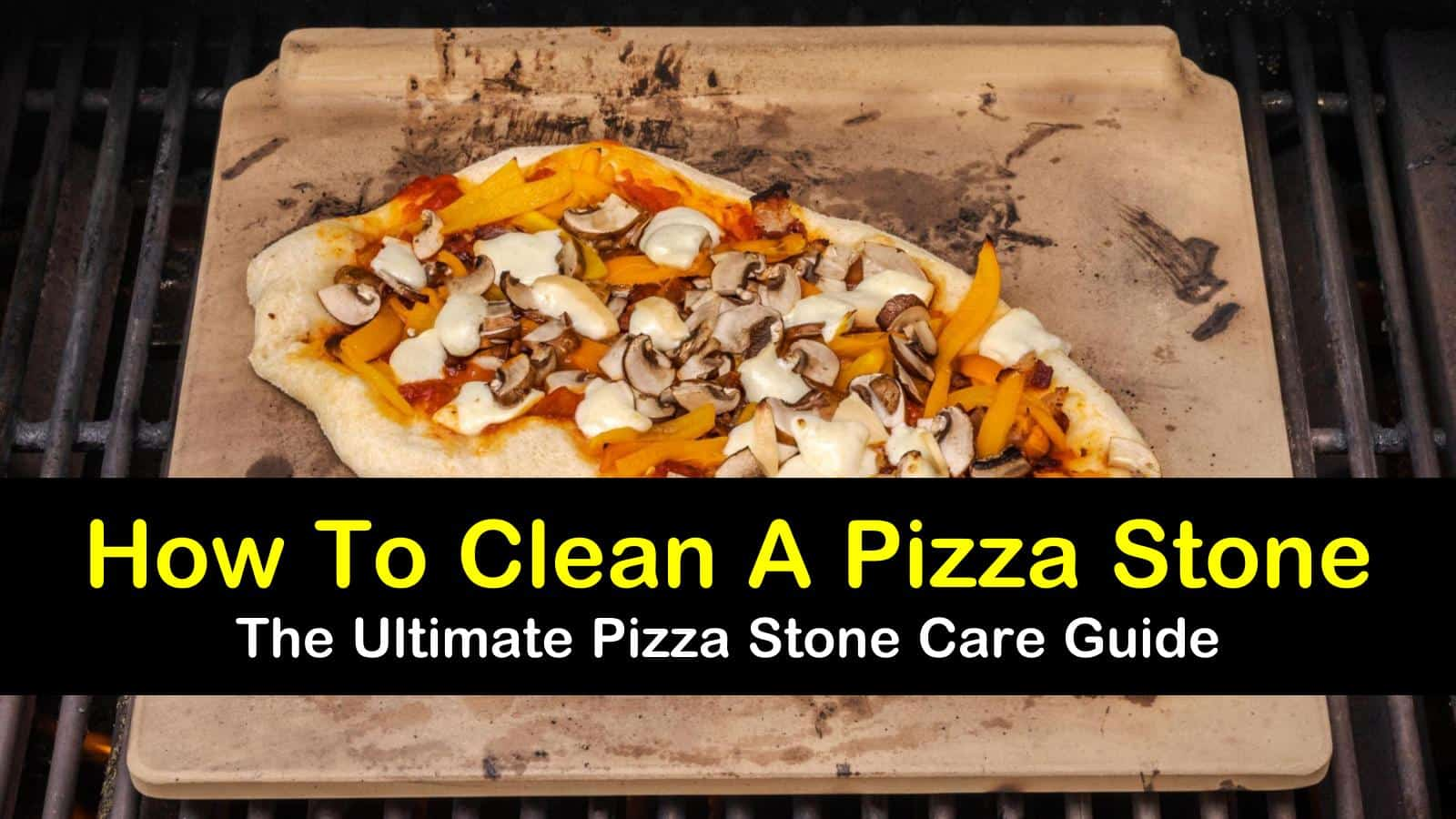 how to clean a pizza stone titleimg1