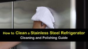 how to clean a stainless steel refrigerator titleimg1