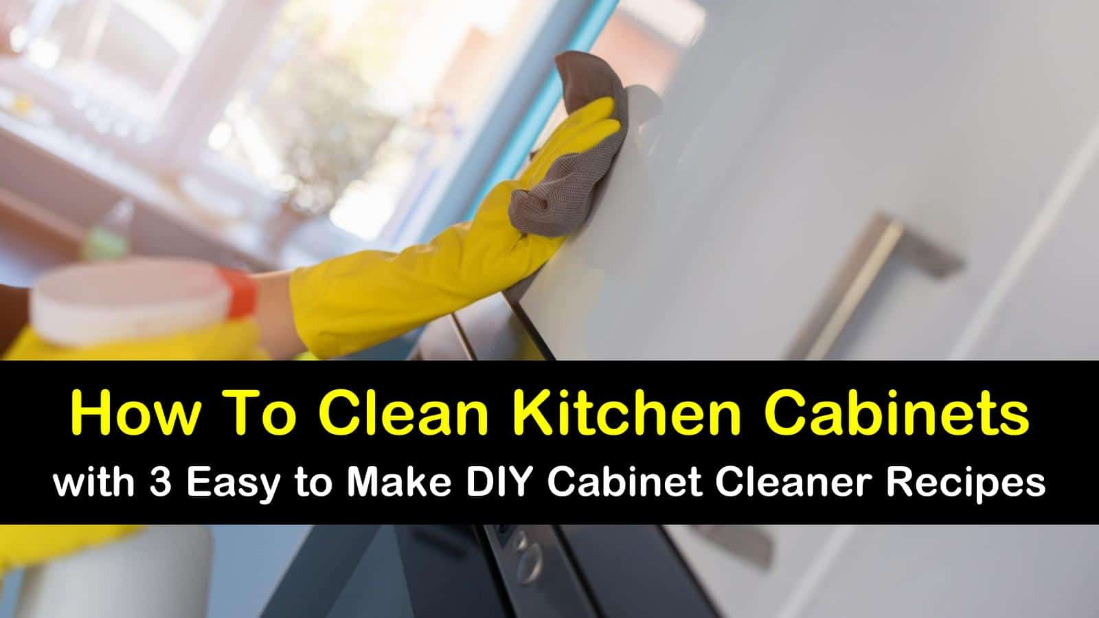 Superb How To Clean Kitchen Cabinets With 3 Easy To Make Diy Beutiful Home Inspiration Ommitmahrainfo