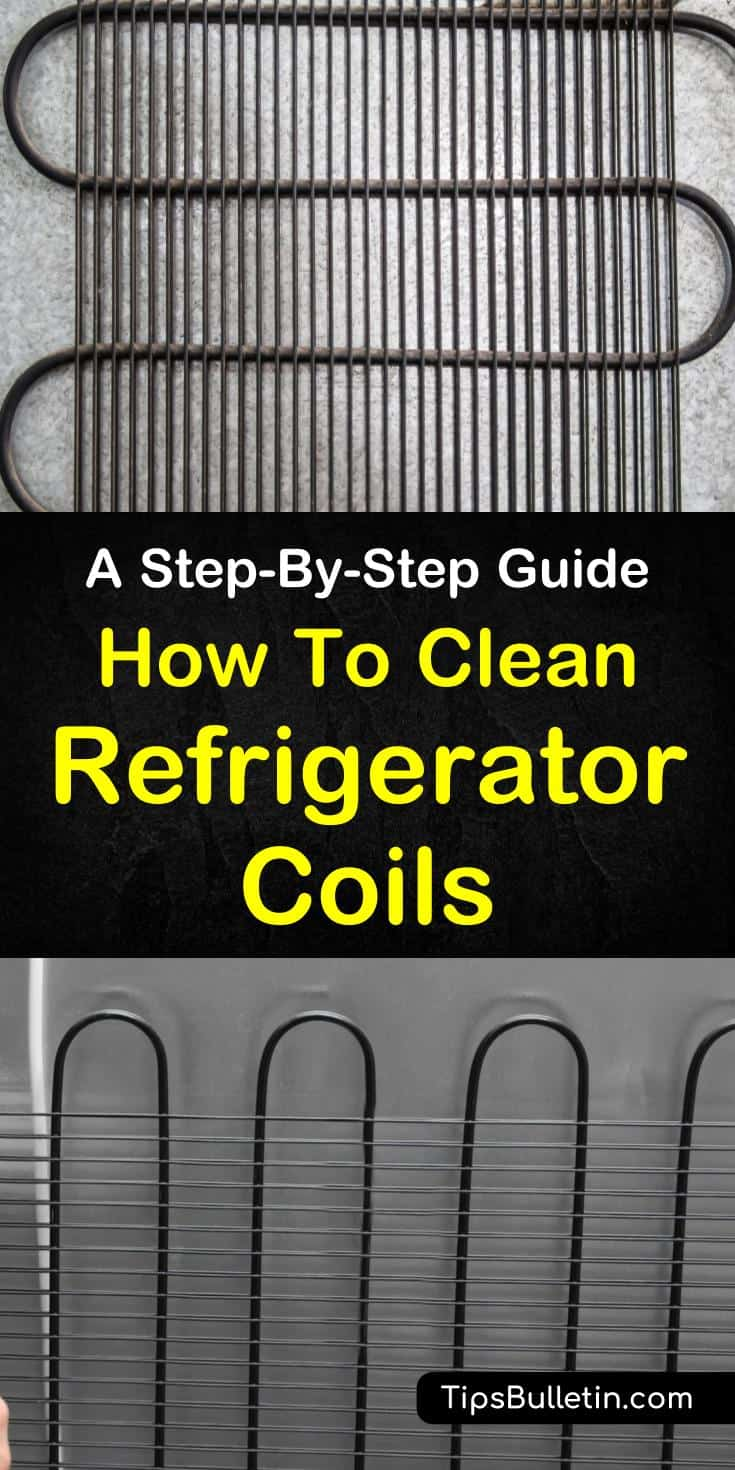 Find our how to keep your refrigerators like new. Our guide shows you how to clean refrigerator coils at home using brushes and simple DIY cleaners. Extend your fridge's lifetime, and save money and time! #cleaning #refrigerator #coils