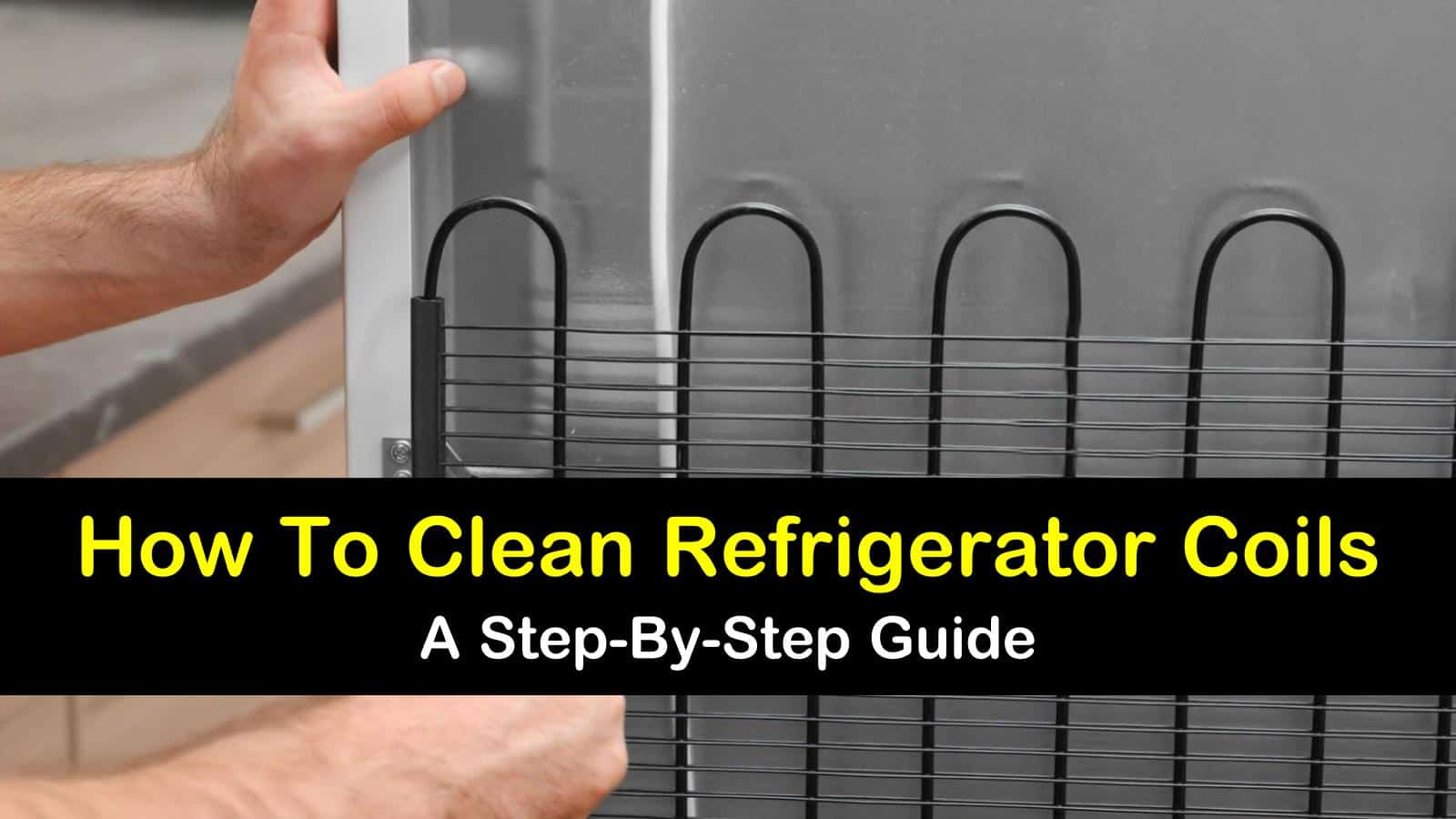 how to clean refrigerator coils titleimg1