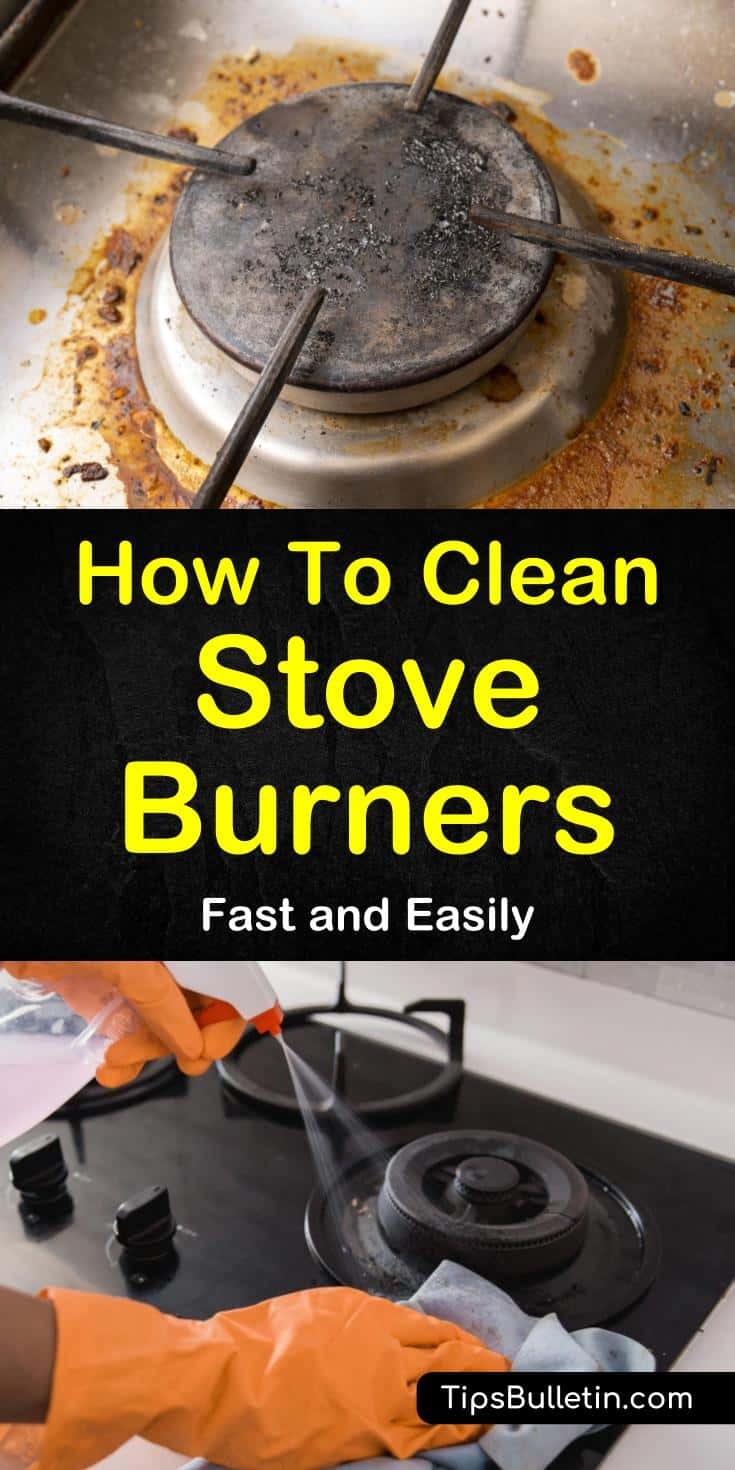 How To Clean Stove Burners Fast And Easily