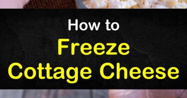 Peachy How To Freeze Cottage Cheese Freezing Tips And Recipes Download Free Architecture Designs Scobabritishbridgeorg