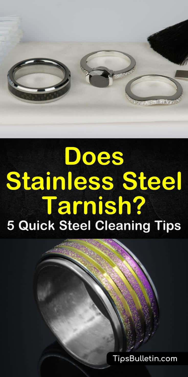 """Learn the answer to the question, """"Does stainless steel tarnish?"""" Find out how to clean and polish stainless steel jewelry. Discover how to remove rust and tarnishing from silver, pewter, and other metals similar to stainless steel. #stainless #steel #tarnish"""