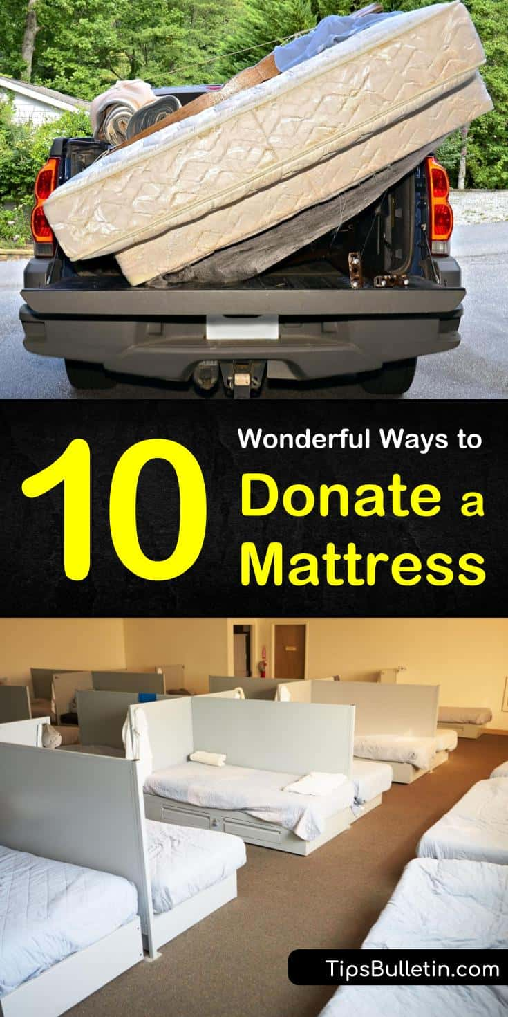 Find out how to donate a mattress to benefit local families in need. Discover where to donate a mattress and which thrift stores and charity organizations will accept them. Learn whether or not your mattress is suitable for donation. #donate #mattress #recycle #repurpose
