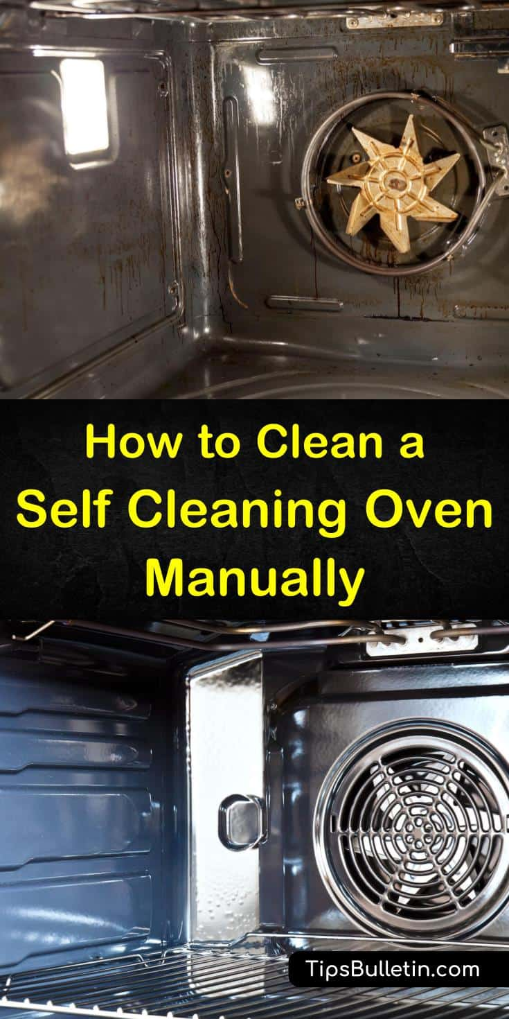 Discover simple tips with white vinegar, water, and baking soda to clean an oven. You can depend on us to ensure your stainless steel self cleaning oven is clean without risking a fire. #ovencleaning #selfcleaningoven #cleanoven