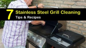 how to clean a stainless steel grill titleimg1