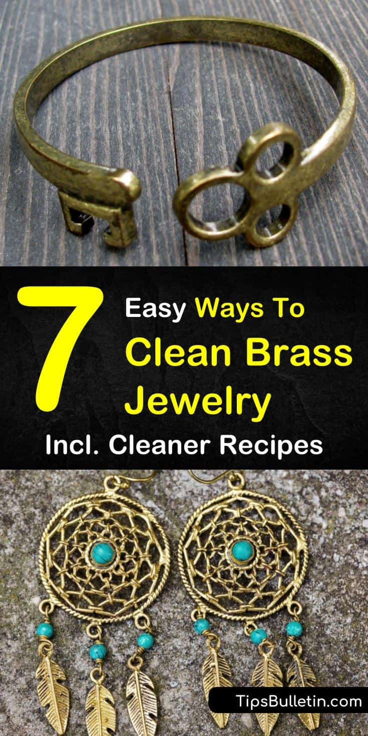 If you own any brass jewelry piece,s you are going to need to learn how to take care of them in order to wear them. From bracelets to rings, cleaning your brass jewelry can easily be done using household items like baking soda. #brassjewelry #brass #cleaner