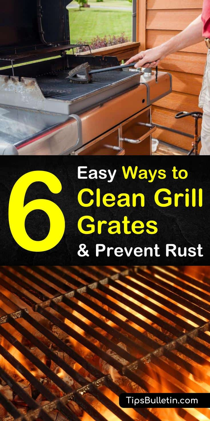 6 Easy Ways To Clean Grill Grates And Prevent Rust
