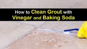 how to clean grout with vinegar and baking soda titleimg1