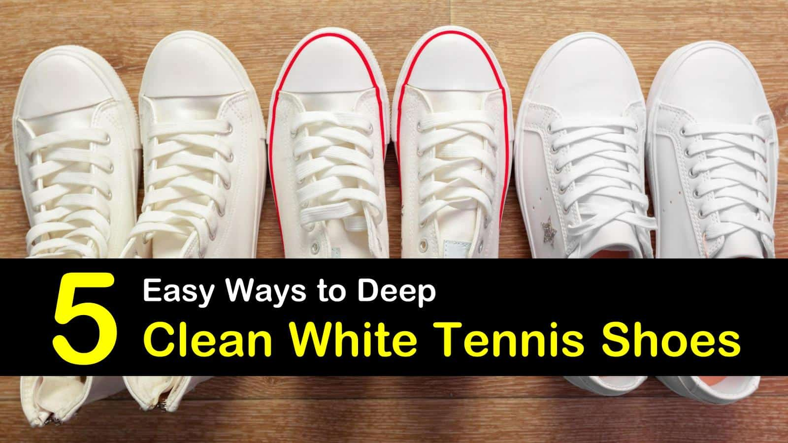 how to clean white tennis shoes titleimg1