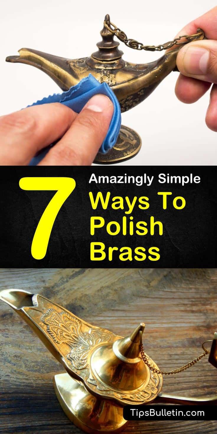 Learn how to polish brass naturally using products like lemon juice and baking soda. Find out how to remove tarnish from brass using these DIY cleaners. Use these easy brass cleaning tips on your jewelry, candlesticks, or hardware. #polish #brass #tarnish #diy