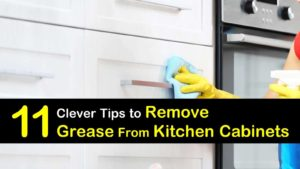 how to remove grease from kitchen cabinets titleimg1