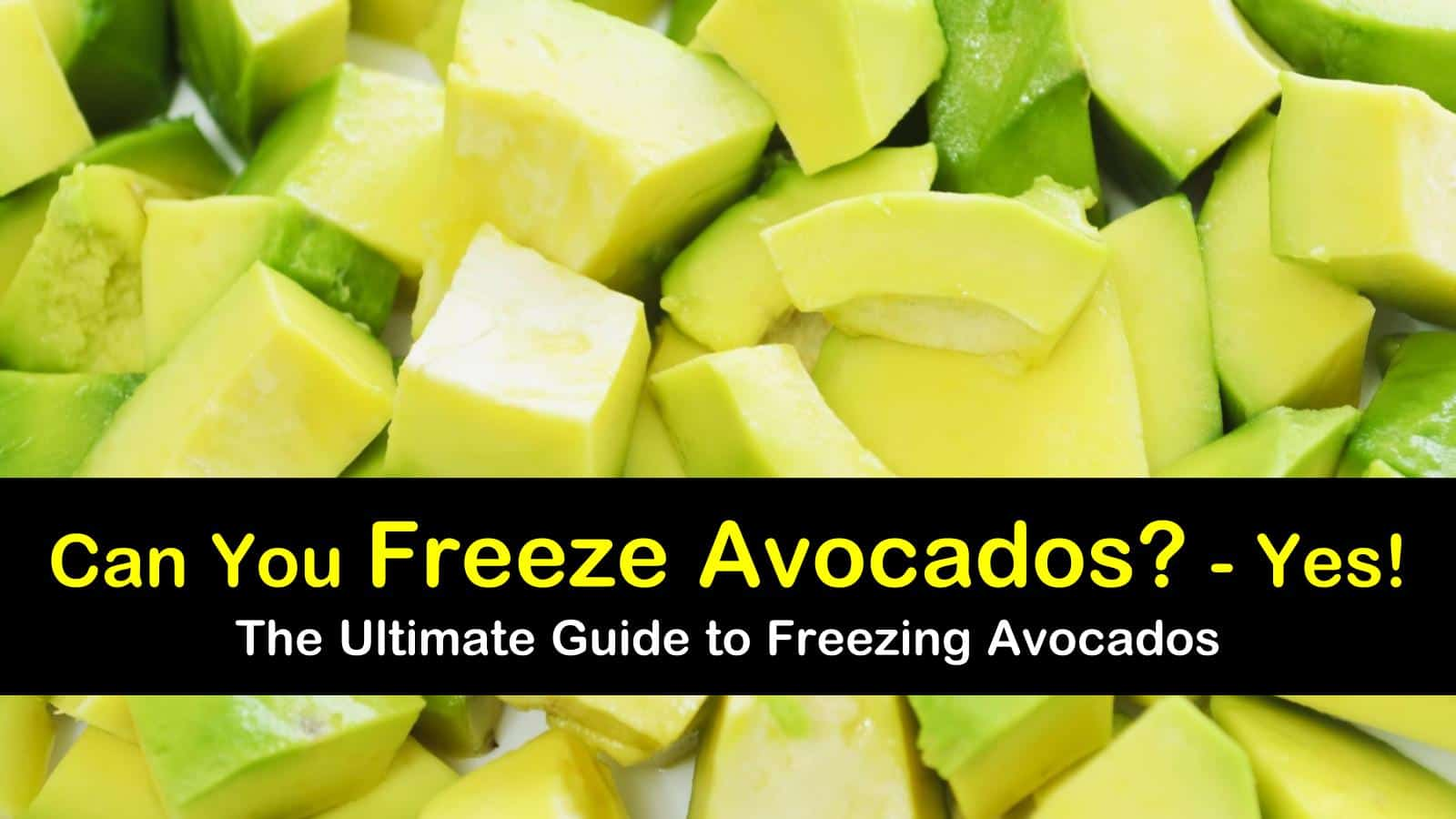3 Simple Ways To Freeze Avocados