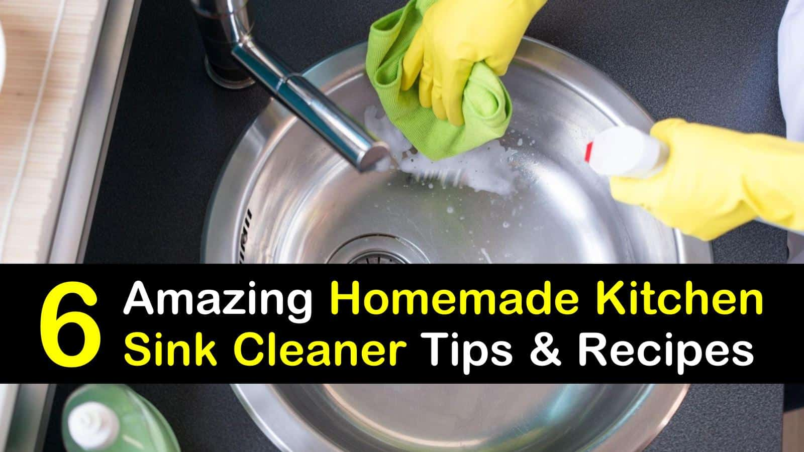 homemade kitchen sink cleaner titleimg1