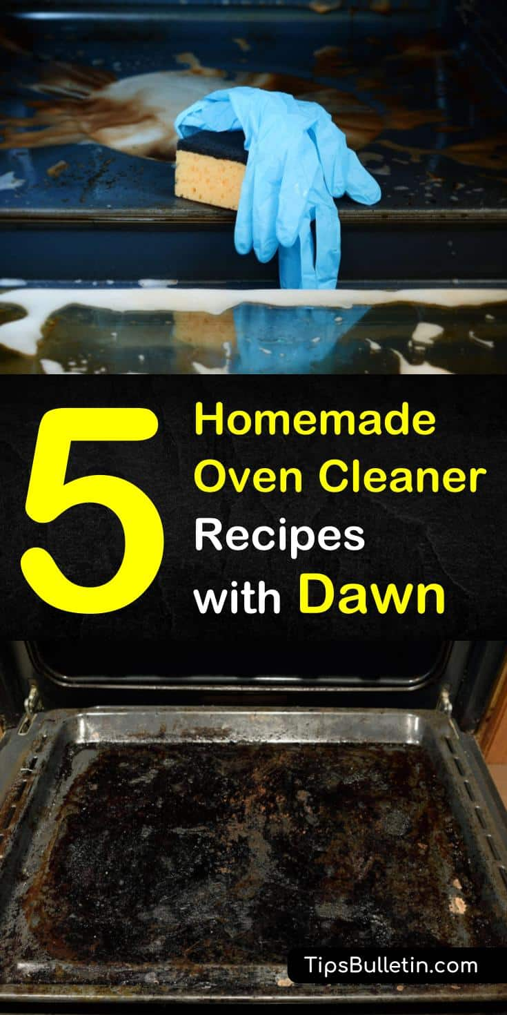Try these homemade oven cleaner with Dawn recipes using everyday ingredients like baking soda and white vinegar. Discover cleaning tips that use dishwashing liquid as a stain remover. Follow these step by step cleaning scrubs for your squeaky-clean oven. #homemade #oven #cleaner #dawn #diy