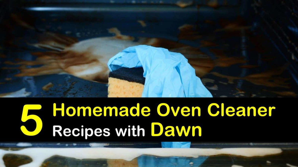 5 All Natural Oven Cleaners With Dawn