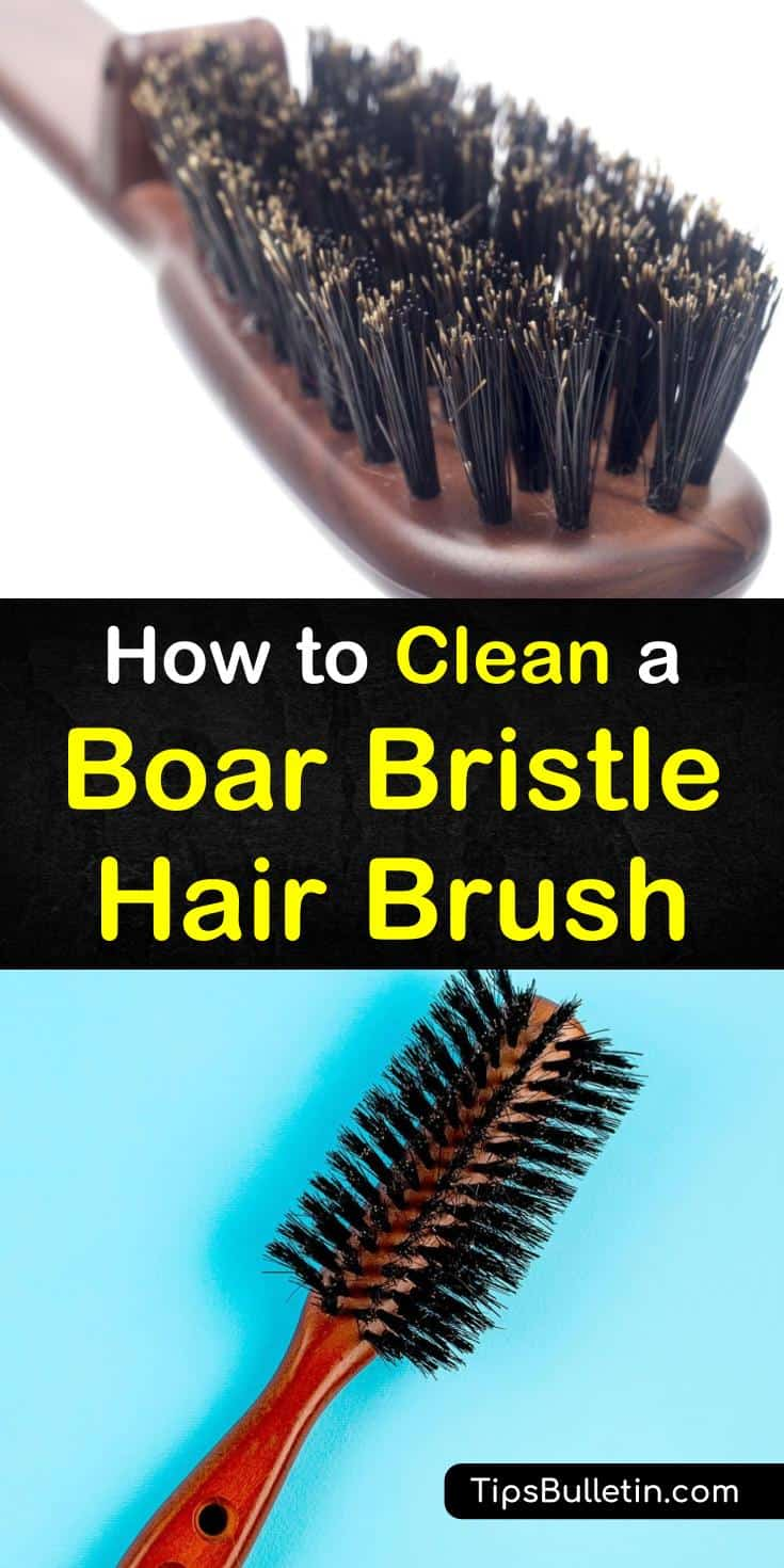 Cleaning a boar bristle hair brush doesn't have to be a challenging task. With the right tools and know-how, you can take care of these special brushes with ease. #boarbristlebrush #cleanboarbristle #hairbrush