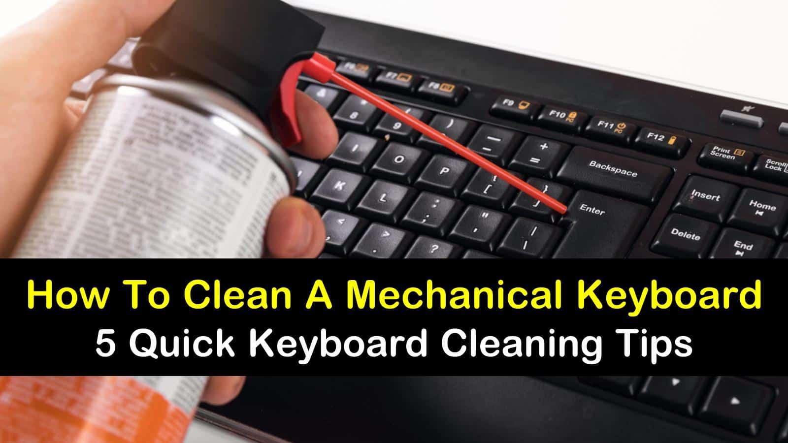 how to clean a mechanical keyboard titleimg1