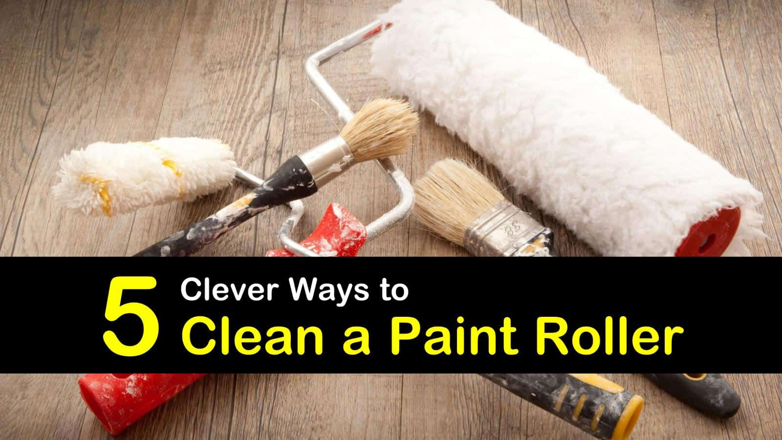 how to clean a paint roller titleimg1