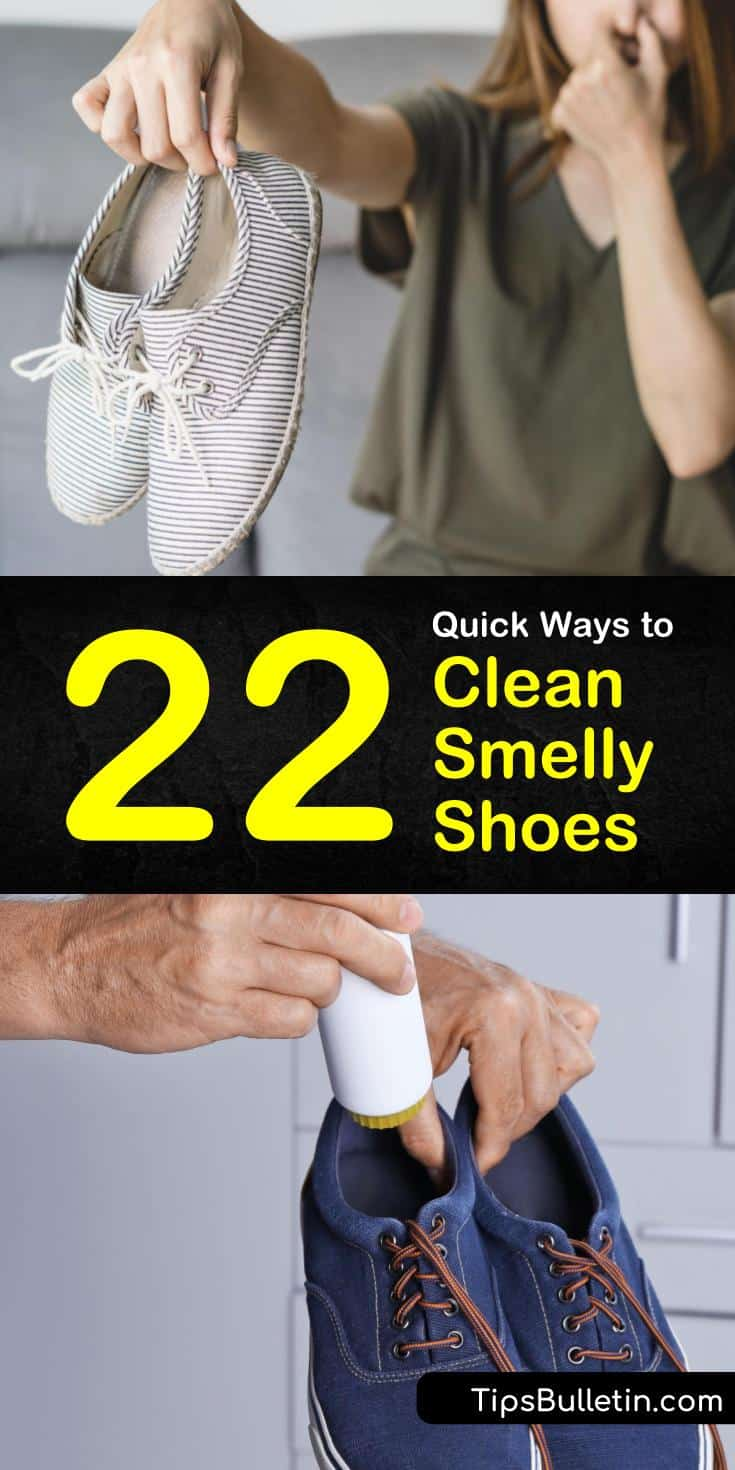 22 Quick Ways To Clean Smelly Shoes