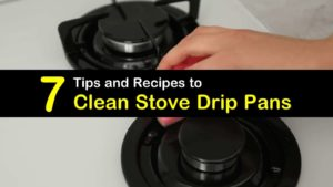how to clean stove drip pans titleimg1